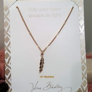 VERA BRADLEY MAY YOUR HEART ALWAYS NECKLACE